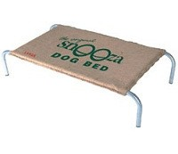 Snooza Dog Bed Original Hessian