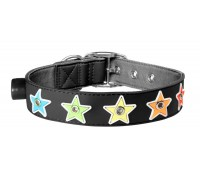 Gummi Pets Flashing Star Dog Collar