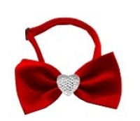 Mirage Clear Crystal Bow Ties