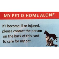 Pet Home Alone Cards